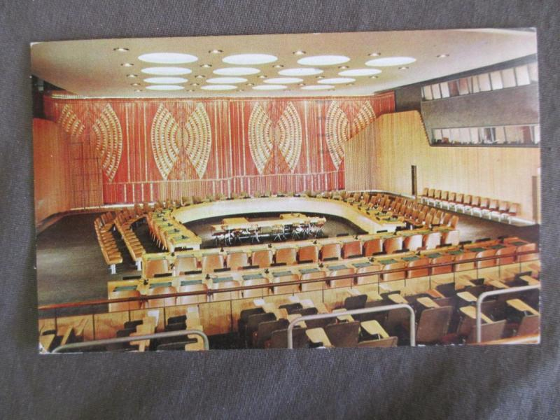 1957 United Nations, NY Photo Postcard - Read Message (TT150)