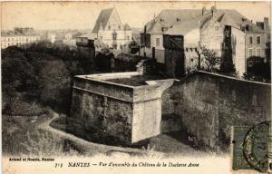 CPA AK NANTES - Vue d'ensemble du Chateau de la Duchette-Anne (650131)