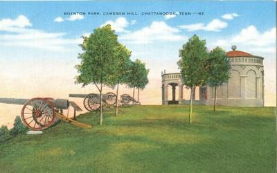 Boynton Park, Cameron Hill, Chattanooga, Tennessee, unuse...