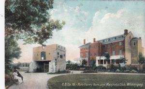 WINNIPEG, Manitoba, Canada, 1900-10s ; Fort Garry Gate & Manitoba Club