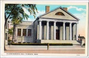 Pilgrim Memorial Hall, Plymouth MA