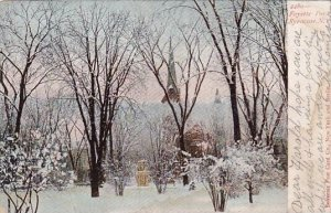 Fayette Park Syracuse New York 1906