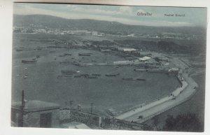 P2240, old postcard air view gibraltar neutral ground
