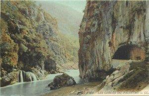 Algeria Palestro gorges tunnel postcard