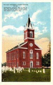 Pennsylvania Oley Reformed Church Erected 1822