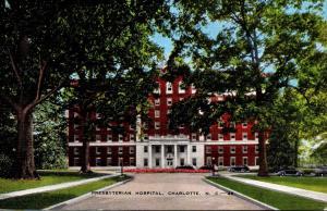 North Carolina Charlotte Presbyterian Hospital
