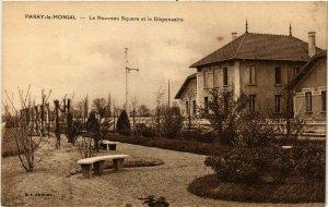 CPA PARAY-le-MONIAL - Le Nouveau Square et le Dispensaire (386864)