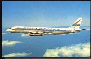 Aviation Airplane Delta Airlines Douglas DC 8 Jetliner