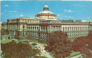 Washington DC Library of Congress 1950s used Postcard