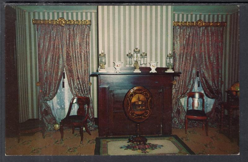 The Rear Parlor,Abraham Lincoln's Home,Springfield,IL