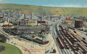 LP12 Waterbury Connecticut Postcard Looking South from Depot