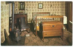 Mary Lincoln's Bedroom, Abraham Lincoln's Home, Springfield