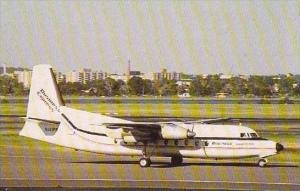BUSINESS EXPRESS FOKKER F27-100 N141PM