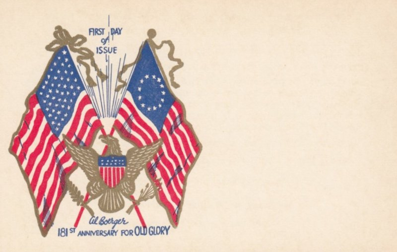 181st Anniversary for OLD GLORY , Flag