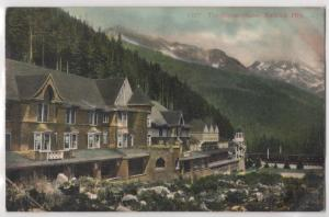 The Glacier House Selkirk Mountains Canada BC British Columbia Antique Postcard