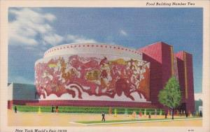 Food Building Number Two New York World's Fair 1939