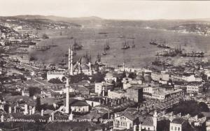 RP, Vue Panoramique Du Port Et Du Bosphore, Constantinople, Turkey, 1920-1940s