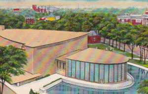 New York Buffalo Kleinhan's Music Hall 1957