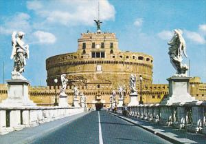 Italy Roma Rome Ponte e Castel San Angelo