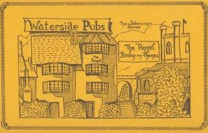 The Angel Henley On Thames Hotel Oxfordshire Pub Liimited Edition 100 Postcard