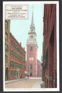 Christ Church (Old North) Boston,MA Detroit Publishing