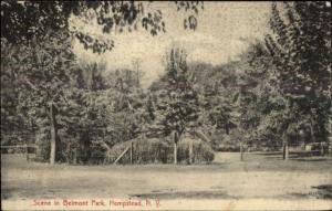 Hempstead Long Island NY Belmont Park c1910 Postcard