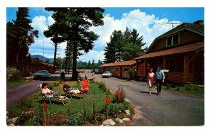 NY - Lake Placid. Lake Shore Motel on Lake Placid