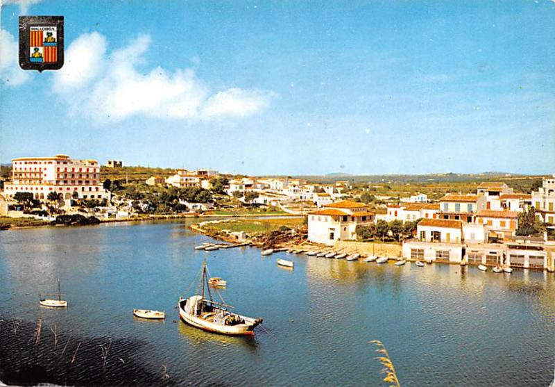 Spain Old Vintage Antique Post Card Vista Parcial Mallorca Postal Used Unknow...