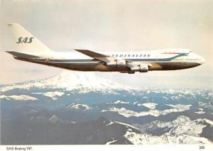 SAS Boeing 747 - Plane