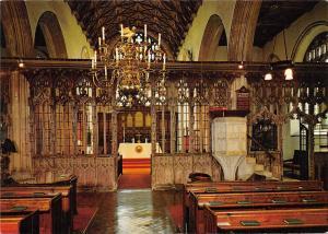 The Stone Rood Screen The parish Church of St. Mary Totnes Devon