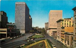 Baltimore MD~St Paul Place~Preston Gardens~Commercial Credit~Mercy~1950s PC