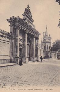 Portail De l'Ancien Archeveche, Tours (Indre et Loire), France, 1900-1910s