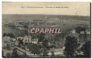 Old Postcard Vallee de Chevreuse Panorama Senlisse