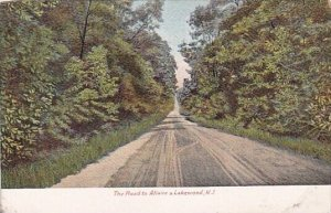 The Road To Allaire & Lakewood New Jersey