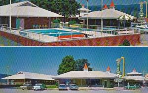 Tennessee Bean Station Harris Motor Court And Restaurant With Pool