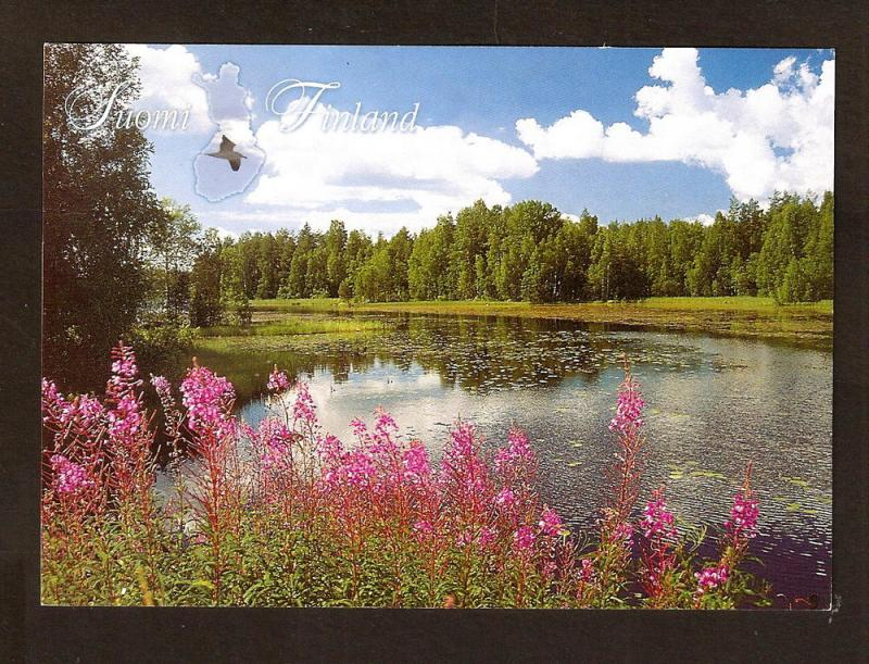 FINLAND SUOMI POSTCARD UNUSED GREETINGS FROM SUOMI FINLAND