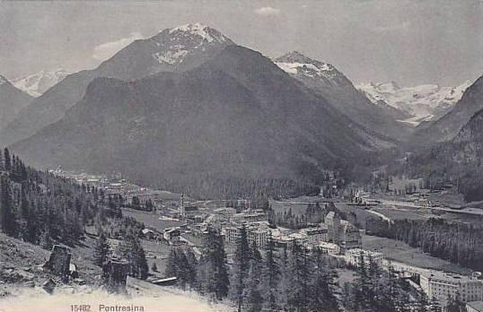 Panorama, Pontresina, Switzerland, 1900-1910s