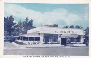 Florida MIami Edith and Fritz Restaurant