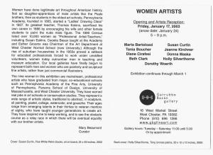 Tom Bostelle Garrubbon Bazan Gallery West Chester PA Art Show Invite