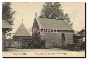 Old Postcard Mont Sainte Odile Chapels and Tears of Angels