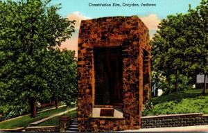 Indiana Corydon Constitution Elm Curteich