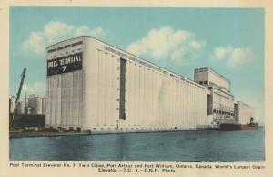 PORT ARTHUR , Ontario , Canada , 1941 ; Pool Terminal Elevator No.7