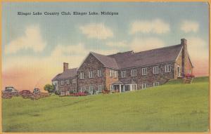 Klinger Lake, Michigan, Klinger Lake Country Club - 1941