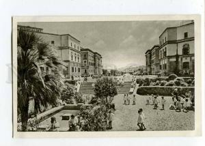 263097 ALBANIA TIRANA Skenderbay square old Albturist postcard