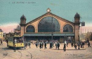 LE HAVRE, Seine Maritime, France, 1900-1910's; La Gare