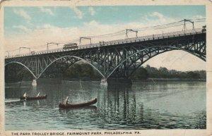PHILADELPHIA, Pennsylvania, 00-10s; Park Trolley Bridge , Fairmount Park