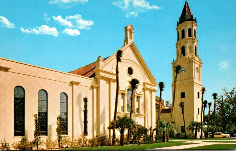 Florida St Augustine The Roman Catholic Cathedral