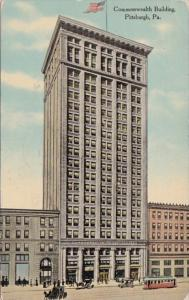 Pennsylvania Pittsburg Commonwealth Building 1913