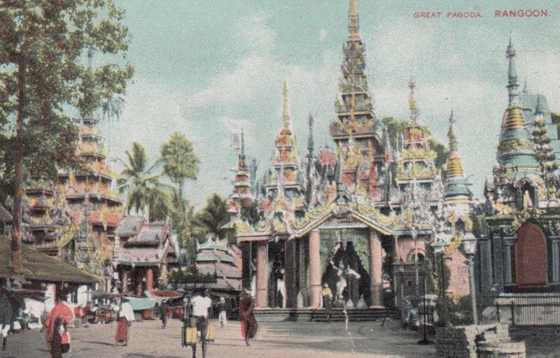 Great Pagoda , RANGOON , Burma , 00-10s
