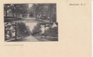 MONTCLAIR , New Jersey , 00-10s ; North & South Mountain avenues